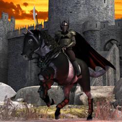The Dark Knight by adorety