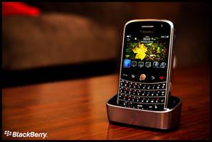 Blackberry Bold 9000 by midwatch