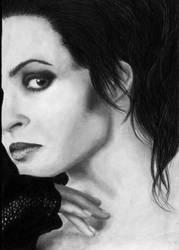 Helena Bonham Carter by luzifersdaughter