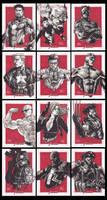Marvel Sketch cards 2012 by JesterretseJ