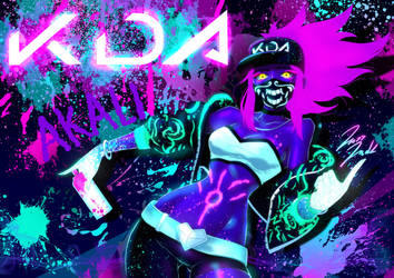 LeagueOfLegends KDA akali by jazzjack-KHT
