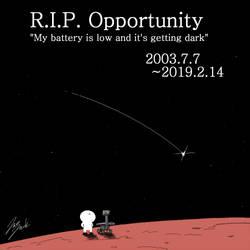 R.I.P. Opportunity by jazzjack-KHT