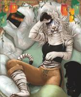Kalira's Tigress - Commission by lenzamoon