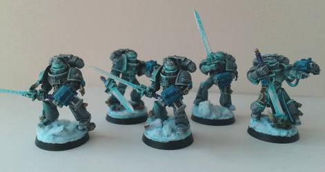 Grey Knight Strike Squad by WoodlandHermit