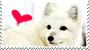 Arctic Fox Stamp by TangyMallow
