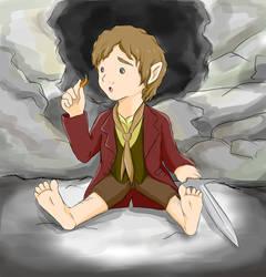 Bilbo Cutie Baggins by do-it-yourself