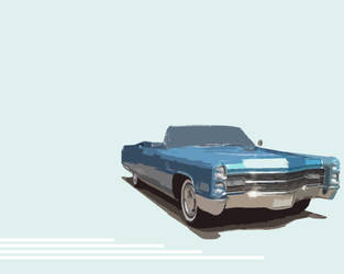 cadillac by frenchlama
