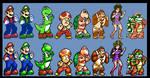 Kart Fighter - Revamped (Sprite edit) by DangerMD