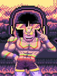 Kinnikuman Super Phoenix by DangerMD