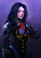 Selenae by Fanelia-Art