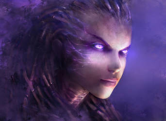 Kerrigan Starcraft II - Reloaded - by Fanelia-Art