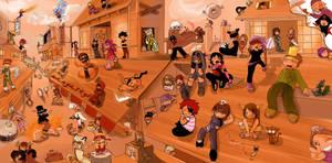 MangaStyl  Ninja Crew  XD by Fanelia-Art