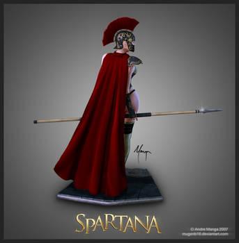 Spartana by MugenB16