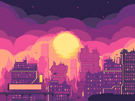 Blood Alloy Skyline by kukuchangmin