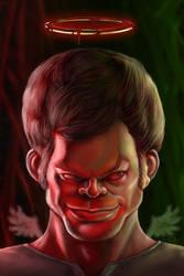 Dexter caricature by CASTELLO