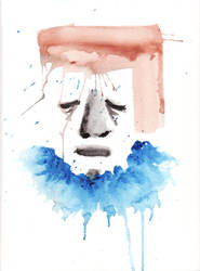 untitled blue and orange by jen-r8r