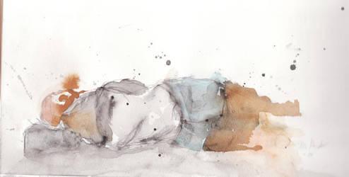 sleeping man by jen-r8r