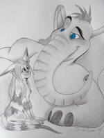 Nartan and Horton-Request by ChaoticColorStudio