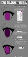 [TR] Eyes Coloring Tutorial by WitoruniP