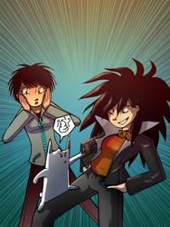 Keila y Kaisy cover by evilself
