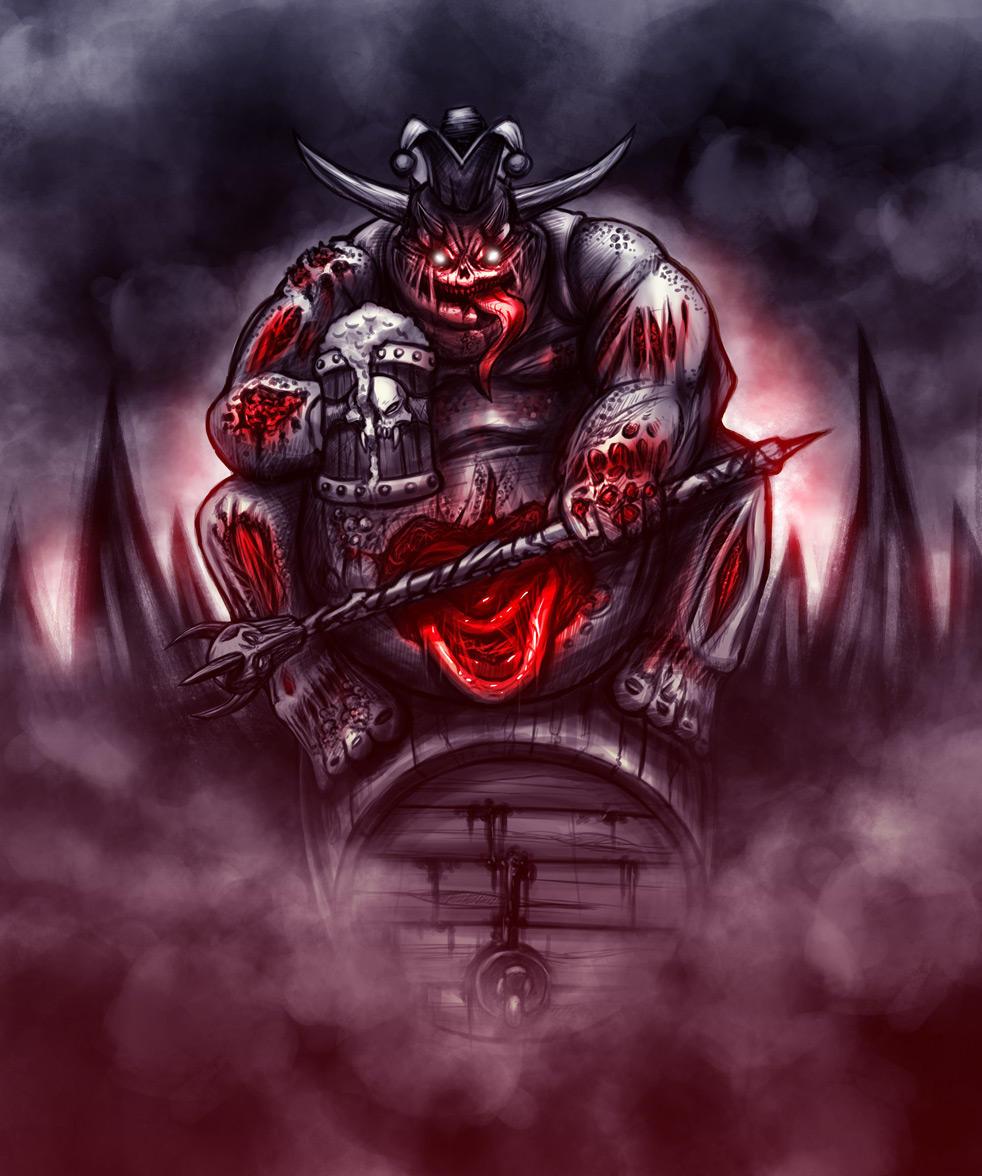 Rey momo, daemon of Nurgle by evilself