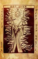 Necronomicon pag 34 by evilself