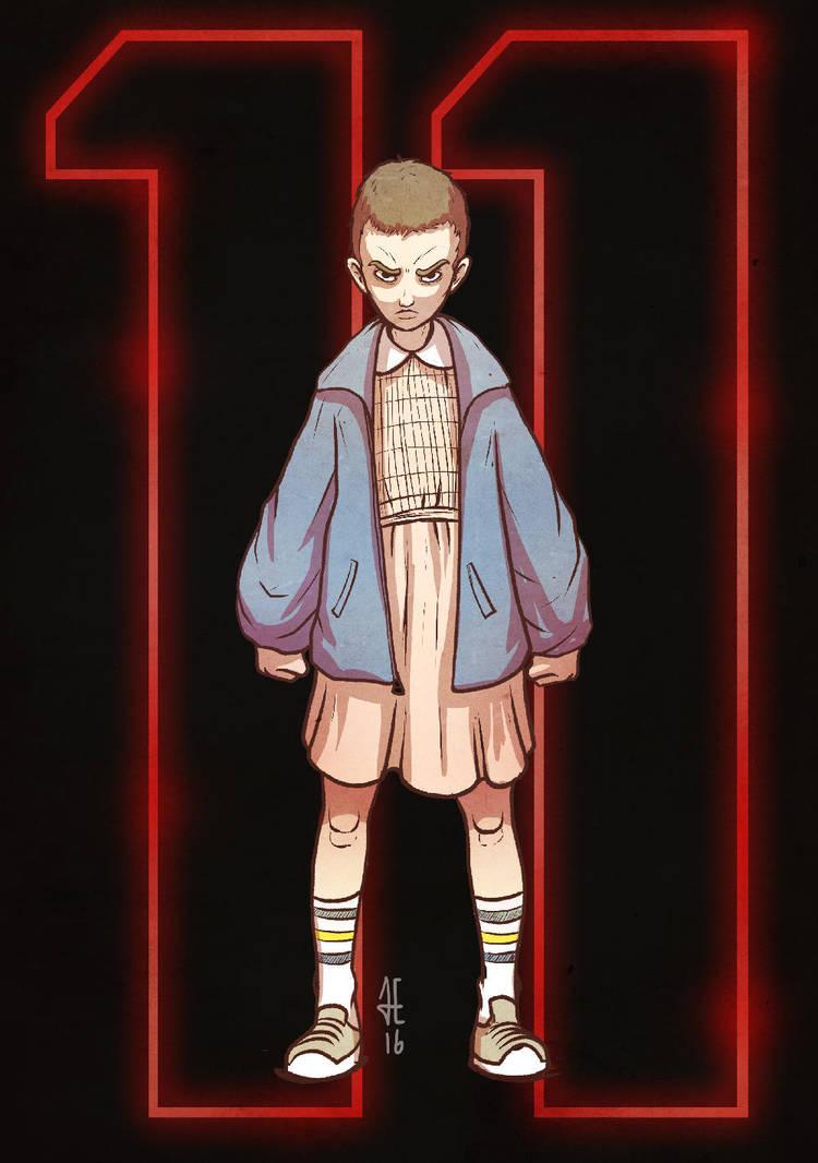 Eleven v2 - Stranger Things by evilself