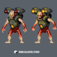 Pixel Revenant by evilself