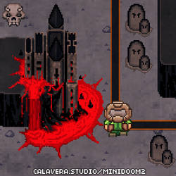 MiniDoom 2 - Unholy Cathedral by evilself