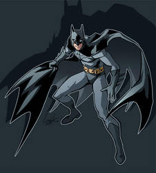 A little Batman by hellcorpceo