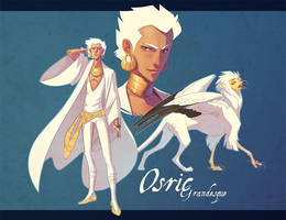 Osric Character Sheet by hellcorpceo