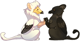 Gryphon Palz by hellcorpceo