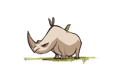 Rhino by hellcorpceo