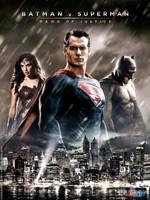 Batman v Superman Poster Trinity by FastMike