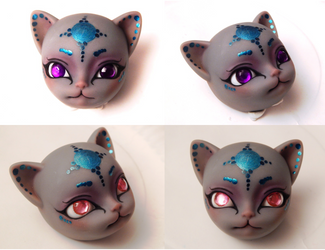 Jewel Eyes Commission by BeanSproutMomo