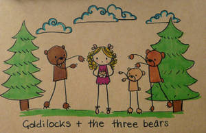 Goldilocks and the Three Bears by Pinkie-Perfect