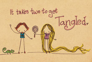 Tangled by Pinkie-Perfect