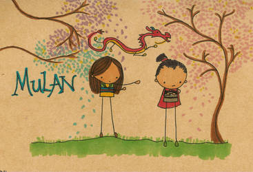 Mulan by Pinkie-Perfect