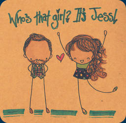 New Girl- Nick and Jess by Pinkie-Perfect