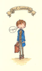 Fantastic Beasts and Where to Find them by Pinkie-Perfect