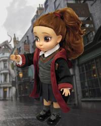 Hermione OOAK repaint by Pinkie-Perfect