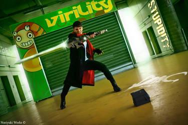 Dante DmC 5 Cosplay by GNefilim