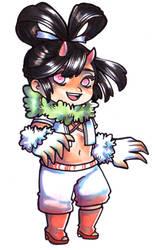 Kiya Allera - White Oni by MoonBuster