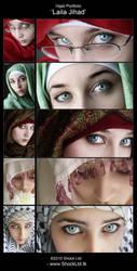Hijab 'Laila Jihad' Portfolio by ShockLtd