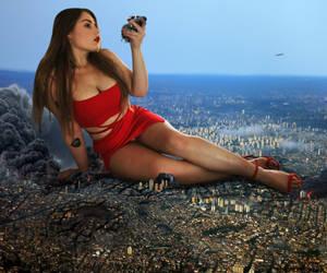 Goddess in Red by fanta333