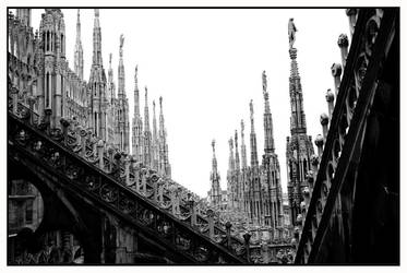 Duomo Black and White by Captain-Planet