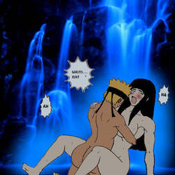 NaruHina: Love In The Waterfall by WHS06