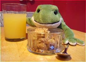 Crumble for Breakfast by laracoa