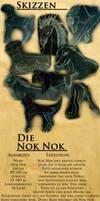 Nok Nok Character Design by laracoa