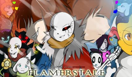 FLAMERSTALE remake cover 2  by FLAMERSBLAME